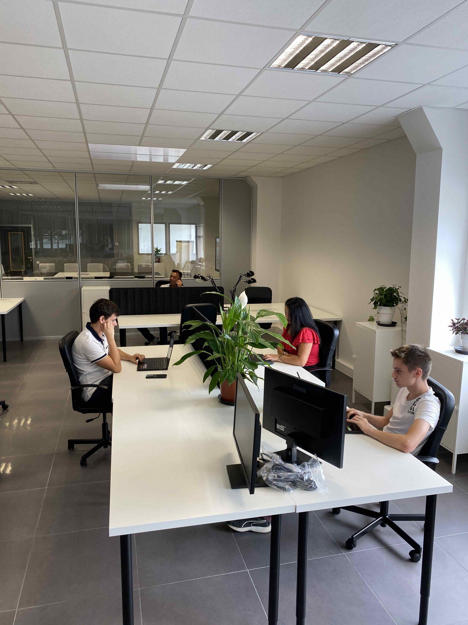 espace de location en coworking